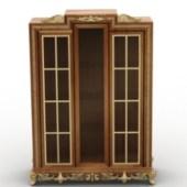 Chinese Wooden Wardrobe