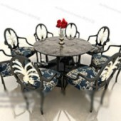 Dining Table Free 3dmax Model Portfolio