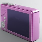 Pink Girls Camera Free 3dmax Model