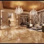 Continental Hotel Lobby