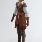 Female Game Character