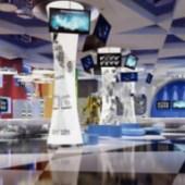 Luxury Office Lobby Free 3dmax Model