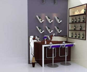 Home Bar Free 3dmax Model Free Download - No2884 Zip