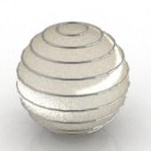 Shiny Round Fixture Free 3dmax Model