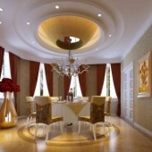 Palatial Hotel-style Rooms Restaurant Free 3dmax Model