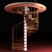 Spiral Staircase Free 3d Max Model