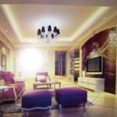 Modern European Living Room