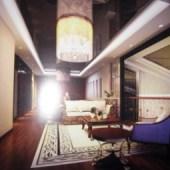 Dark Tones Living Room