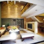 Elegant Living Room Interior 3dMax Scene
