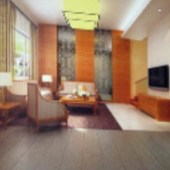 Of Vine Furniture Chinese Living Room Free 3dmax Model