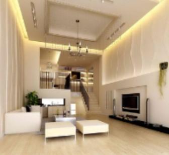 Duplex Living Room Interior Free 3dmax Model