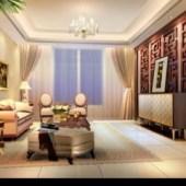 European Warm Living Room