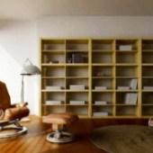 Minimalist Study Space Design