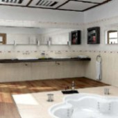 Boutique Bathroom 3dmax Model Interior Scene