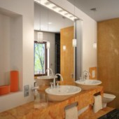 Free 3dmax Model Interior Scene Boutique Bathroom