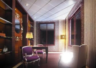 European Study Room Design Free 3dmax Model