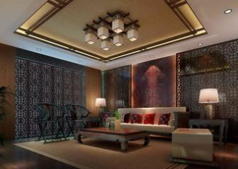 Chinese Living Room Interior Scene Free 3dmax Model