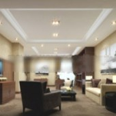 3d Living Room Free 3dmax Model Business Free 3dmax Model