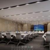 Conference Room White Ladder