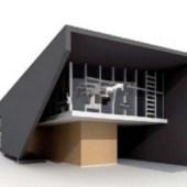 Small Modern Villa Free 3dmax Model