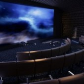 3d Cinema Theater Free 3dmax Model