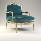 Navy Blue Chair
