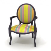 Colored Round Chair