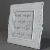European Frame Free 3dmax Model