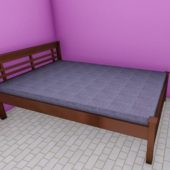Asian Classic Bed