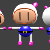Bomberman Character