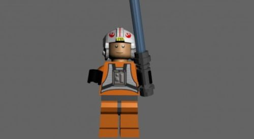Lego Luke Skywalker X-wing Pilot