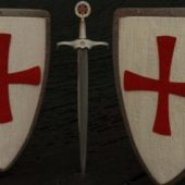 Shield & Sword (templar Style)