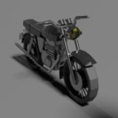 Simple Motorcycle