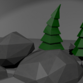 Low Poly Models Scene 1