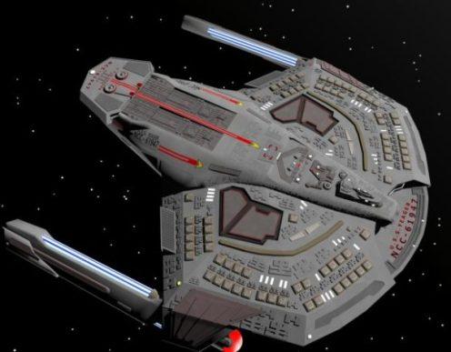 Uss Yeager Ncc 61947 Spaceship