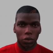 Paul Pogba Face