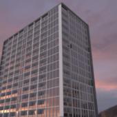 Luxurious Tall Glass Building