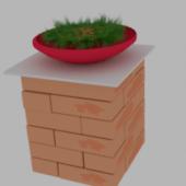 Marble Brick N Grass
