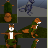 Squirrel Rigged