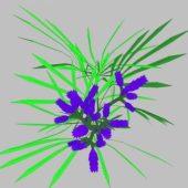 Landscape Flower 04
