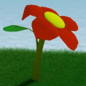 Flowercartoon + Realisticgrass