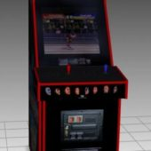 Wwf Upright Arcade Machine