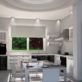 Interior Kitchen Scene