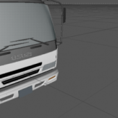 Isuzu Low Poly Car