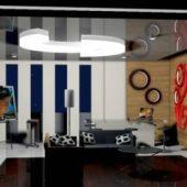 Living Room (cinema 4d)