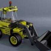 Lego Excavator Truck