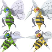 Beedrill Pokemon Character