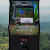 Caveman Upright Arcade Machine