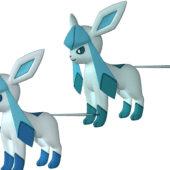 Glaceon Pokemon Character