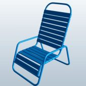 Horizontal Strap Pool Chair